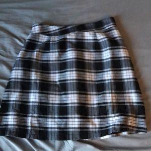 Plaid pencil skirt size small